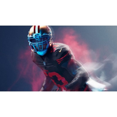 49ers color rush jersey