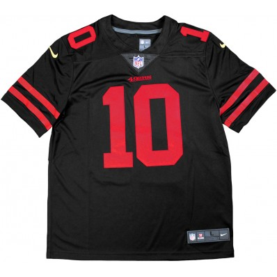 49ers red and black jerseys