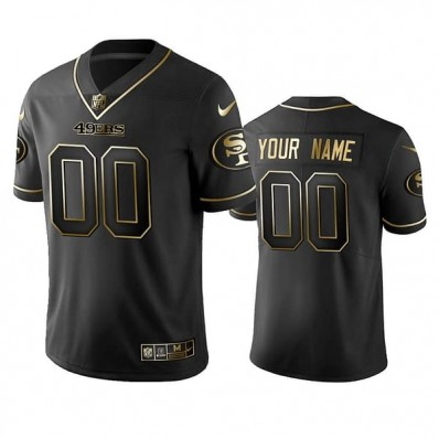 49ers youth black jersey