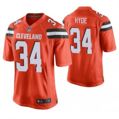 carlos hyde cleveland browns jersey