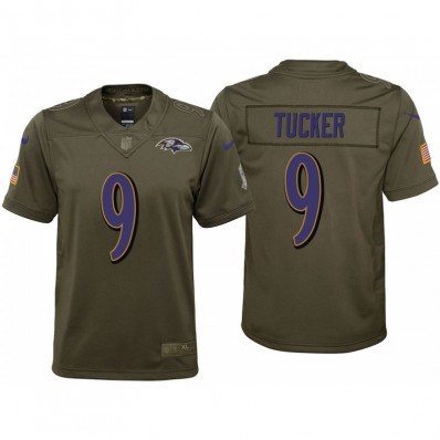 justin tucker salute to service jersey