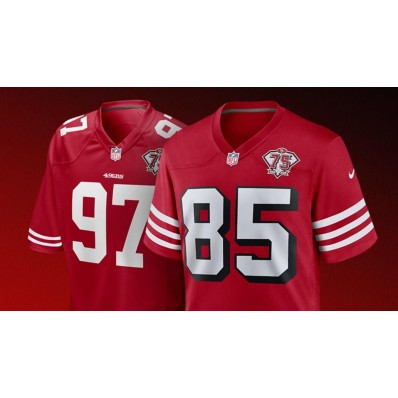 official nfl 49ers jersey